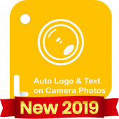 Auto Add Logo Copyright with Text on Camera Photos