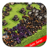 Server Gems Clash of Clans FHX